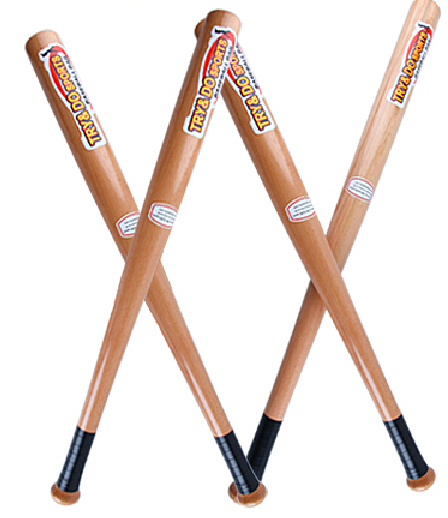 Top quality robinia Pure wood baseball bat Strong wooden beisebol bats hardball sports for kids Adult 21 25 29inches Free ship