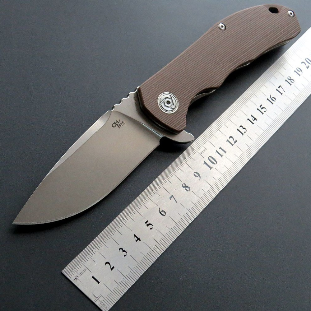 58-59HRC CH CH3504 D2 blade G10 handle folding knife tactical Survival knife outdoor camping EDC tool utility EDC Pocket Knife58-59HRC CH CH3504 D2 blade G10 handle folding knife tactical Survival knife outdoor camping EDC tool utility EDC Pocket Knife