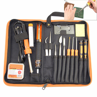 23 in 1 Primary Welding Tool Set Smartphone Laptop Computer Precision Electronic Soldering Iron Soldering Aid Tool Kit