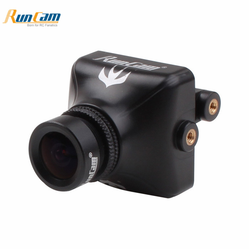 RunCam Swift 2 1/3 2.3mm CCD 600TVL Micro FPV Camera For Eachine Wizard TS215 FPV Racing Drone Multi Copter Spare Parts Accs runcam micro swift 2 fpv camera 2 1mm lens fov160w osd