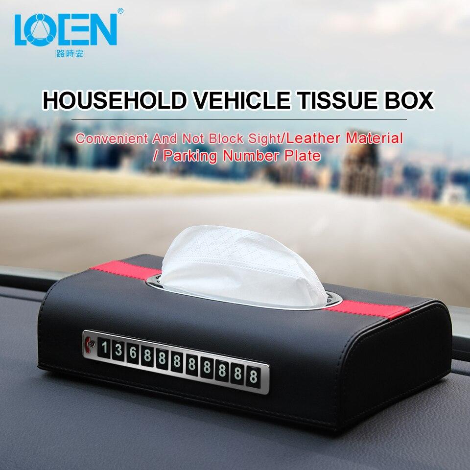 Penjepit Pemegang Kotak Tisu Untuk Mobil Update Daftar Harga Tissue Kulit Loen Asli Rumah Auto Kertas Wadah Handuk Jaringan Organizer