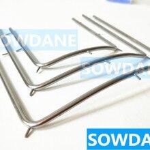 Стоматологическое отбеливание зубов открывалка для рта резиновая дамба латексная рама инструмент из нержавеющей стали 10 см/12 см/7,3 см на выбор