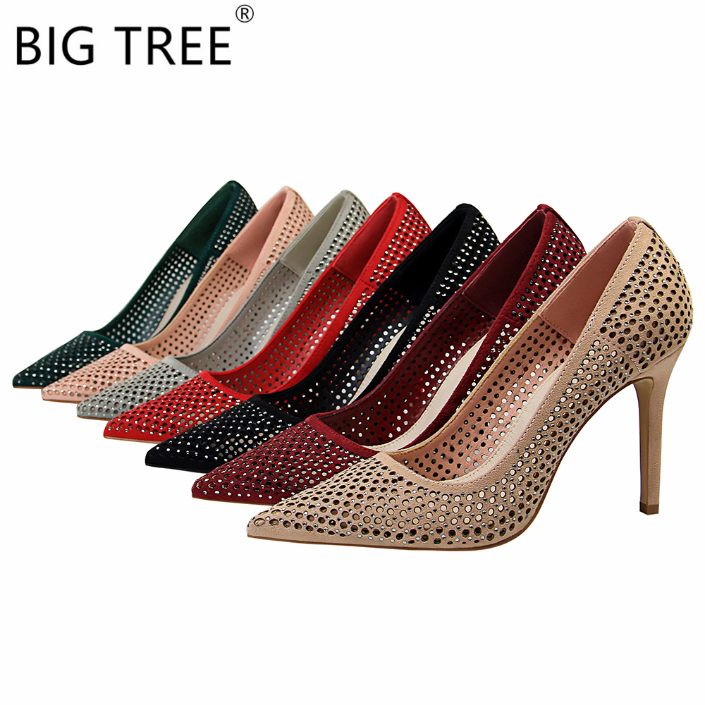 Realistic 15 Cm High-heeled Crystal Sandals Nightclub Dance Shoes Pole Dancing Shoes Model High Heels Womens Shoes Regular Tea Drinking Improves Your Health Office & School Supplies