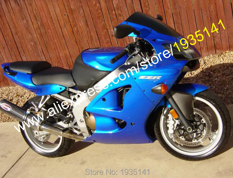 Hot Sales,For Kawasaki NINJA ZX6R 2000 2001 2002 ZX 6R 636 ZX-6R Full Blue Bodyworks Motorcycle Fairing Kit (Injection molding)