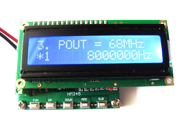DDS New Square Wave Pulse Signal Generator Signal Source Frequency Range 1KHz~68MHzDDS New Square Wave Pulse Signal Generator Signal Source Frequency Range 1KHz~68MHz