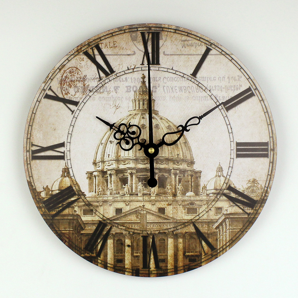 Wholesale Europe Style Quiet Large Decorative Wall Clock
