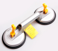 Free Shipping 100kg Capacity Double Suction Cup Dent Puller Glass Mover Glass Lifer