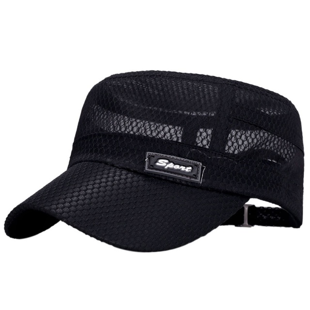 1b939379fb7 US $4.27 |Hiking Hat Camping Baseball Hunting and Fishing Mountain Hat  Outdoor Sports Baseball Flat Brimmed Cotton Flat Cap-in Hiking Caps from  Sports ...