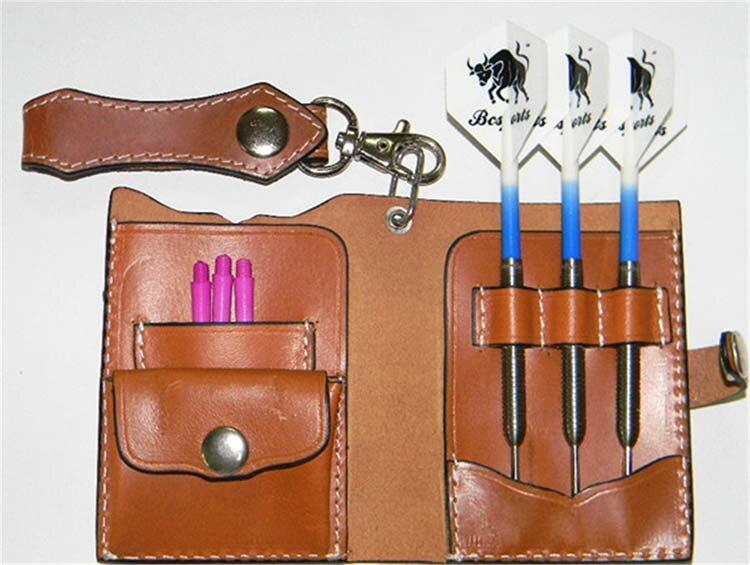 цены на Leatheer Dart Cases For Soft-tip/Steel-tip, Bcsports Dart Supplier в интернет-магазинах
