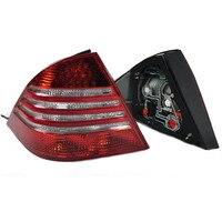 Светодиодный задний тормоз свет лампы задние фонари для mercedes benz W220 S280 S300 S320 S350 S500 S600 автомобиля света в сборе