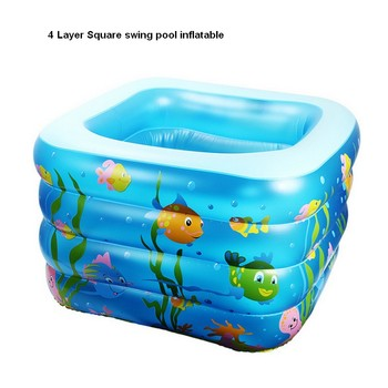 2016 4 layers height square indoor inflatable swimming pool children swimming pool baby swimming pool drop.jpg 350x350