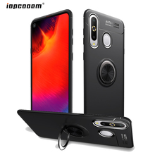 for Samsung Galaxy A8S SM-G8870 Case Magnetic Finger Ring Stand Shockproof Soft Back Cover Phone Cases