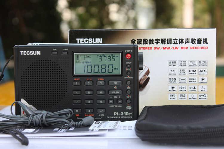 TECSUN PL-310ET AM FM Digital Radio Portable LW SW World Band Stereo Receiver