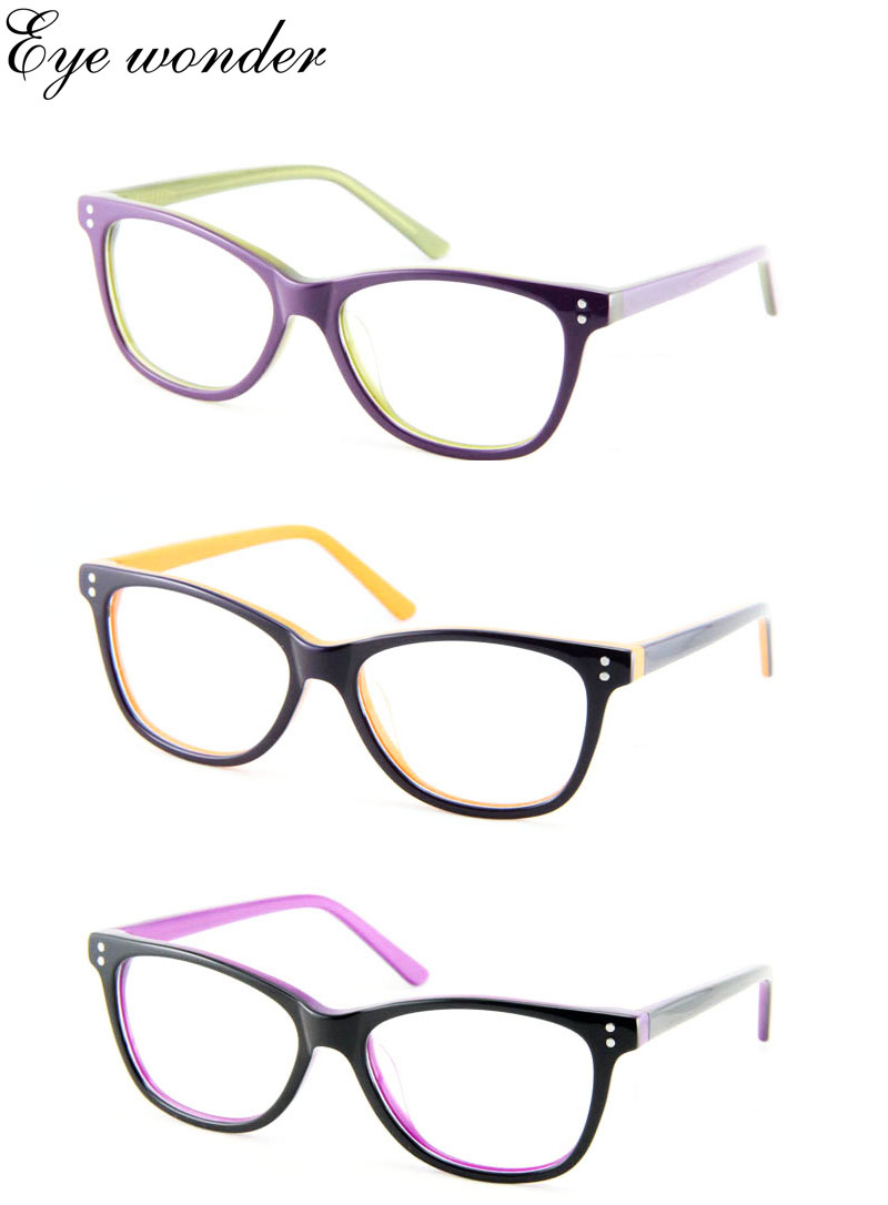 Women Retro Acetate Optical Vintage Glasses Frames Wholesale Eye ...
