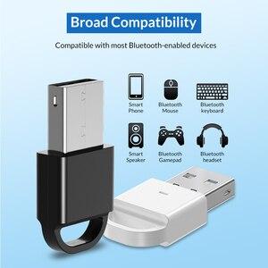 Image 3 - Topk Usb Bluetooth Mini 4.0 Bluetooth Dongle Adapter Zender Ontvanger Voor Computer Pc PS4 Speaker Muziek Draadloze Muis Aptx