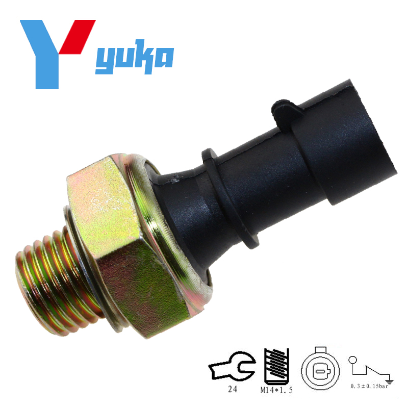 Brand New Sender Unit, Engine Oil Pressure Switch For Saab 900 9000 9-5 95 2.5L 3.0L 90507539, 55354378