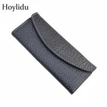 Hoylidu PU Barber peluquería profesional negro tijeras del caso herramientas accesorios estilista 2 carga bolsa titular
