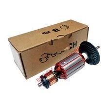 AC220 240V Armature โรเตอร์สำหรับ BOSCH GWS850C GWS8 100C GWS8 125C GWS8 100CE GWS8 125 GWS8 125CE GWS850CE GWS8 125 GWS8 100