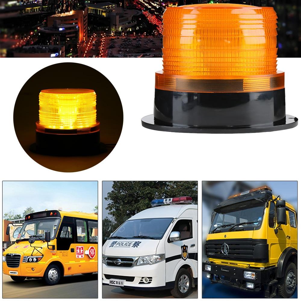 Led Universal Car Roof Warning Light Bus Beacon Strobe