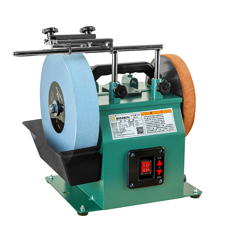 цена на 10 - inch reversing white corundum grinding machine S8101 low - speed grinding machine polishing machine