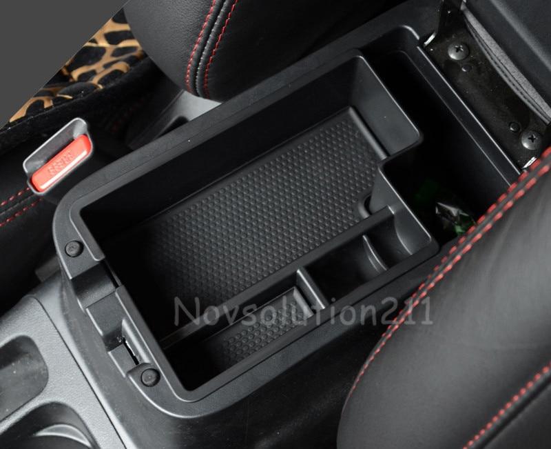 LHD Car Organizer for Mitsubishi Outlander Sport ASX RVR 2013 2014 2015 2016 Central Armrest Storage