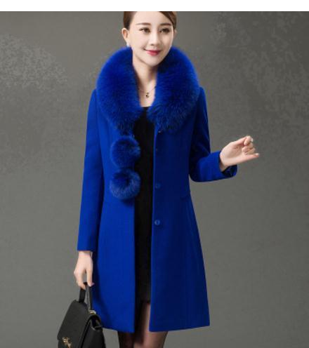Noir Moyen marine Bleu Royal Maman Et Vêtements bourgogne Maolen Épaississement Vieux Femmes bleu Livraison Envoyer rouge pourpre Manteau Longueur 41RnqqPw5