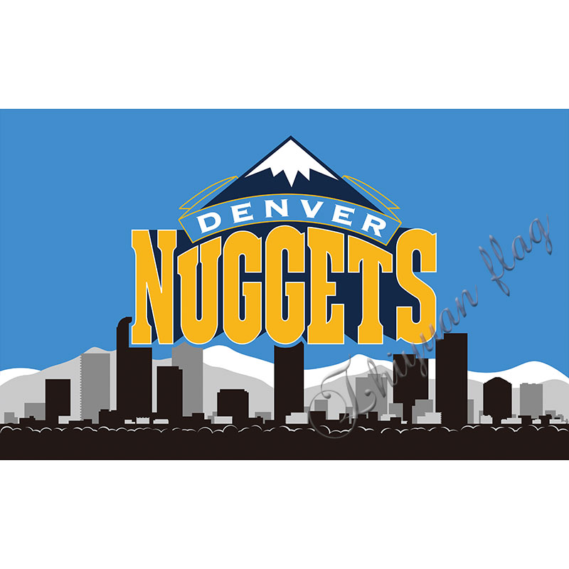 Denver Nuggets Flag NB*A National Basketball Association