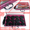 HOT 20pcs Set Body Massage Stone Set Hot Stone With Heater Box