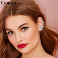 Comiya fashion zinc alloy rhinestones multi stars charms boucles d'oreille women stud earrings bijoux femme wholesale cc earring