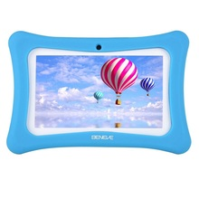 Russian Warehouse Shipped Kids Learning Machine 7inch Children Tablet PC 1G+8GB Android 7.1 Dual Camera Language Training