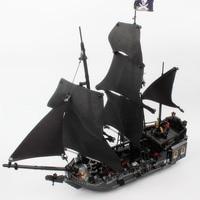 LEPIN 16006 The Black Pearl 804pcs Pirates Of The Caribbean Building Blocks Set 4184 Educational DIY