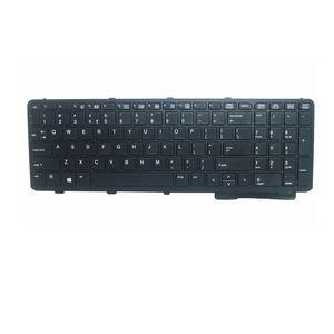GZEELE Englisch NEUE Tastatur Für HP ProBook 650 G1 655 G1 UNS Mit Rahmen Laptop Tastatur Schwarz 738697-001
