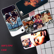 Silicone Phone Case 2Pac Tupac Amaru Shakur for iPhone XS XR Max X 8 7 6 6S Plus 5 5S SE Matte Cover