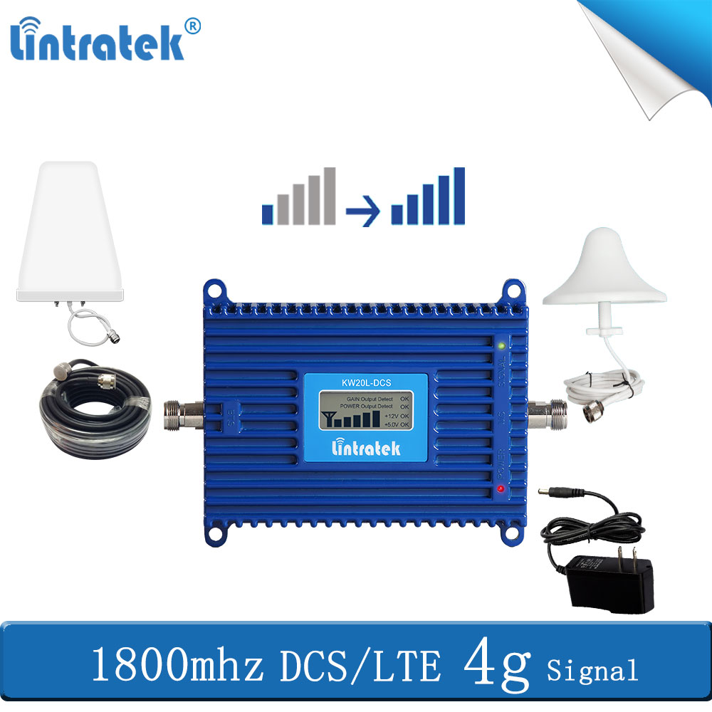 Lintratek GSM 1800 4G Network LTE 1800 Cellular Repeater Mobile Signal Booster 1800mhz Communication Amplifier 4g Antenna #8