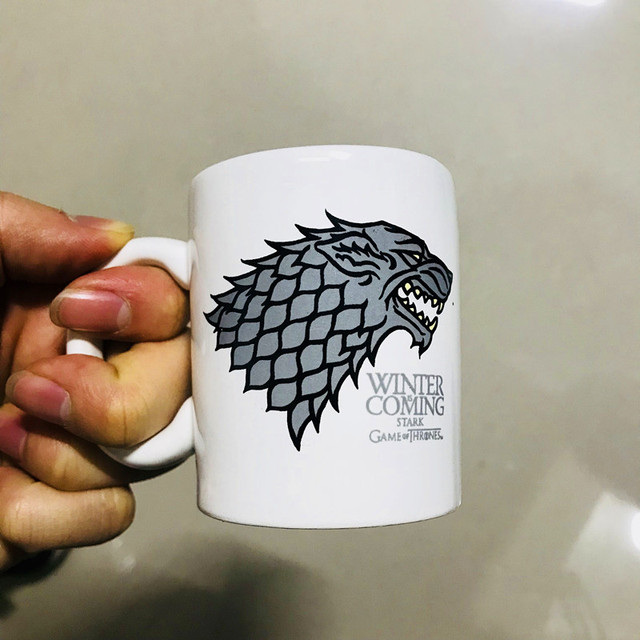 "Ceramic Cups ""Fire and Blood"" 5"