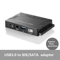 Usb Ide Adapter Usb 3 0 To Sata Ide Hard Drive Converter Combo For 2 5