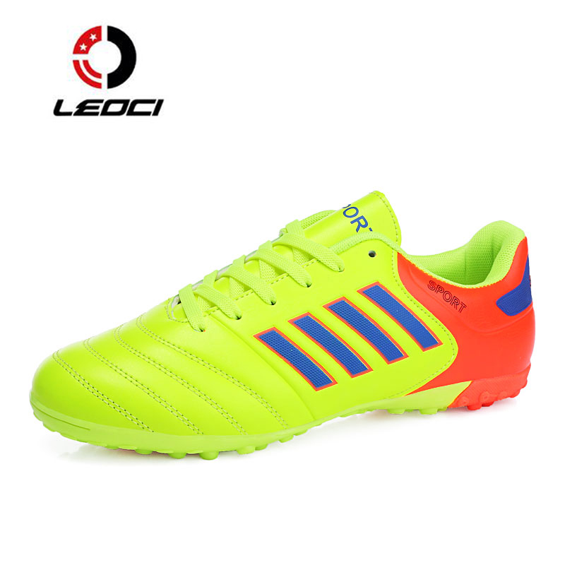 e890b6e4f1a92 LEOCI Men Soccer Shoes Indoor Tenis futsal Turf Boys Sneakers for Football  Boots Zapatillas Deporte Mujer Chaussure De Foot-in Soccer Shoes from  Sports ...
