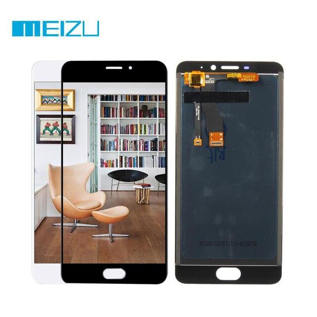 ЖК-дисплей для Meizu M5 note m621h m621q m621m m621c Дисплей Сенсорный экран планшета сборки/Рамки 5.5 ''черный/белый