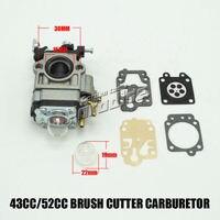 MP15 43CC 52CC CG430 CG520 BC430 BC520 Chinese Brush Cutter Grass Trimmer Carburetor With Repair Kits