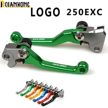 With LOGO 250EXC Motorbike Dirt bike Pivot brake clutch lever  For KTM 250EXC/EXC-F (SIX DAYS) 2014-2016 EXC F 250