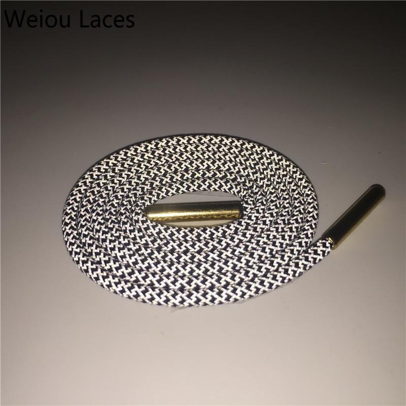 Weiou Round 3M Reflektif tali sepatu logam aglets Keselamatan tali - Aksesoris sepatu - Foto 2
