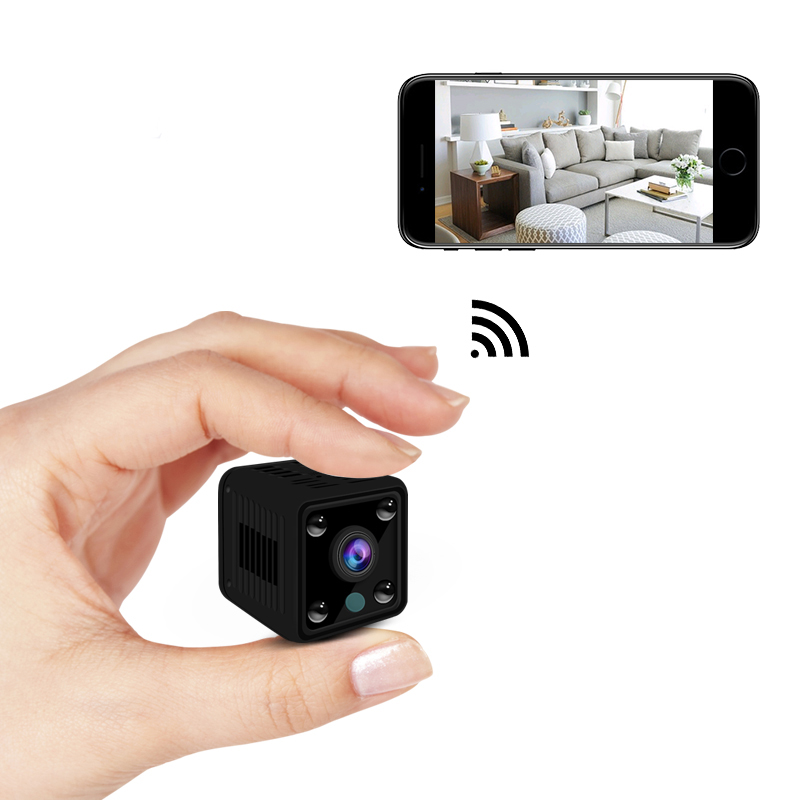 Wireless WiFi Mini IP Camera HD 720P Home Security Camera Portable Battery Powered Video DV Recorder