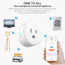 Chargeur intelligent Wifi télécommande minuterie commutateur surveillance de puissance pour USType commande vocale avec Alexa Google Home électrique Mini