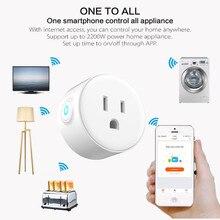Smart ladegerät Wifi fernbedienung timer switcher power überwachung für USType voice control mit Alexa Google Home Elektrische Mini