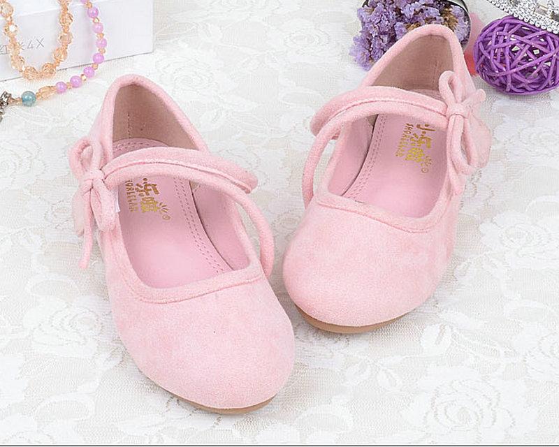 Nuevos zapatos suaves de los niños Zapatos de cuero de la primavera - Zapatos de niños