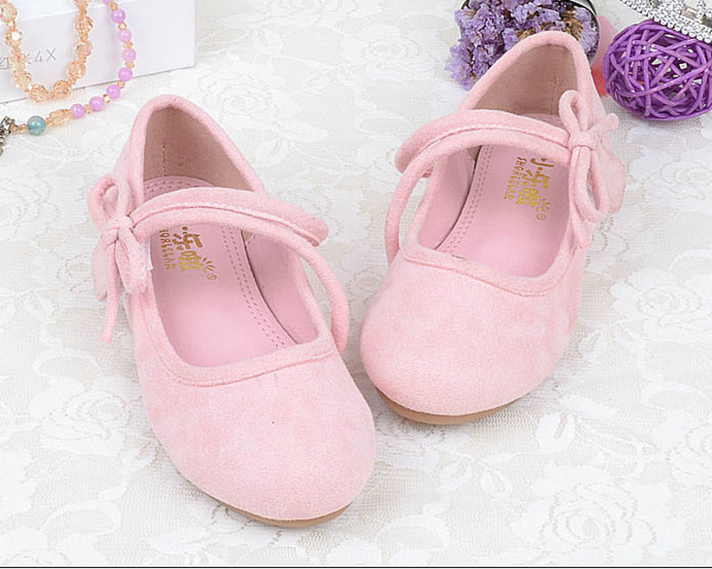 New Children Soft Shoes Spring Leather Shoes Princess Kids Sneaker For Baby Girls Casual Flat Shoes