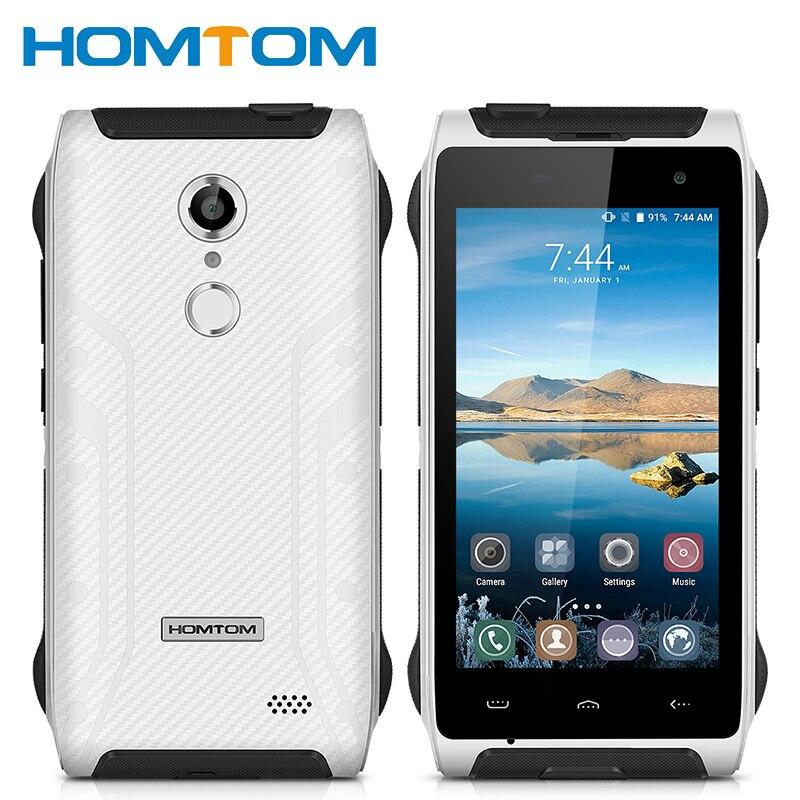 Цена за Оригинал homtom ht20 ip68 водонепроницаемый отпечатков пальцев mtk6737 quad core 2 ГБ ram 16 ГБ rom android 6.0 3500 мАч 4.7 дюймов смартфон