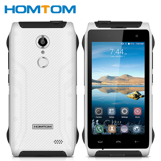 Оригинал homtom ht20 ip68 водонепроницаемый отпечатков пальцев mtk6737 quad core 2 ГБ ram 16 ГБ rom android 6.0 3500 мАч 4.7 дюймов смартфон