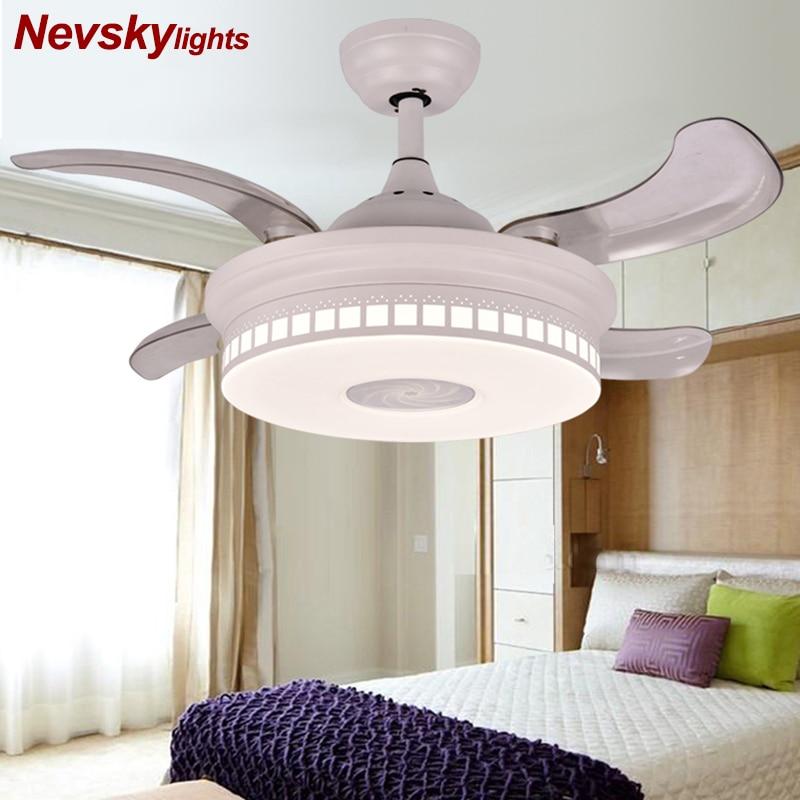 Ceiling Fans ventilador techo Without Light Bedroom 220v Ceiling Fan Ceiling Fans With Lights Remote Control Ventilador De Teto