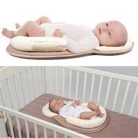 Baby Pillow Positioner Baby Room Newborn Prevent Flat Head Sleep Cushion Soft Infant Head Protection Nursing Pillows A045-30